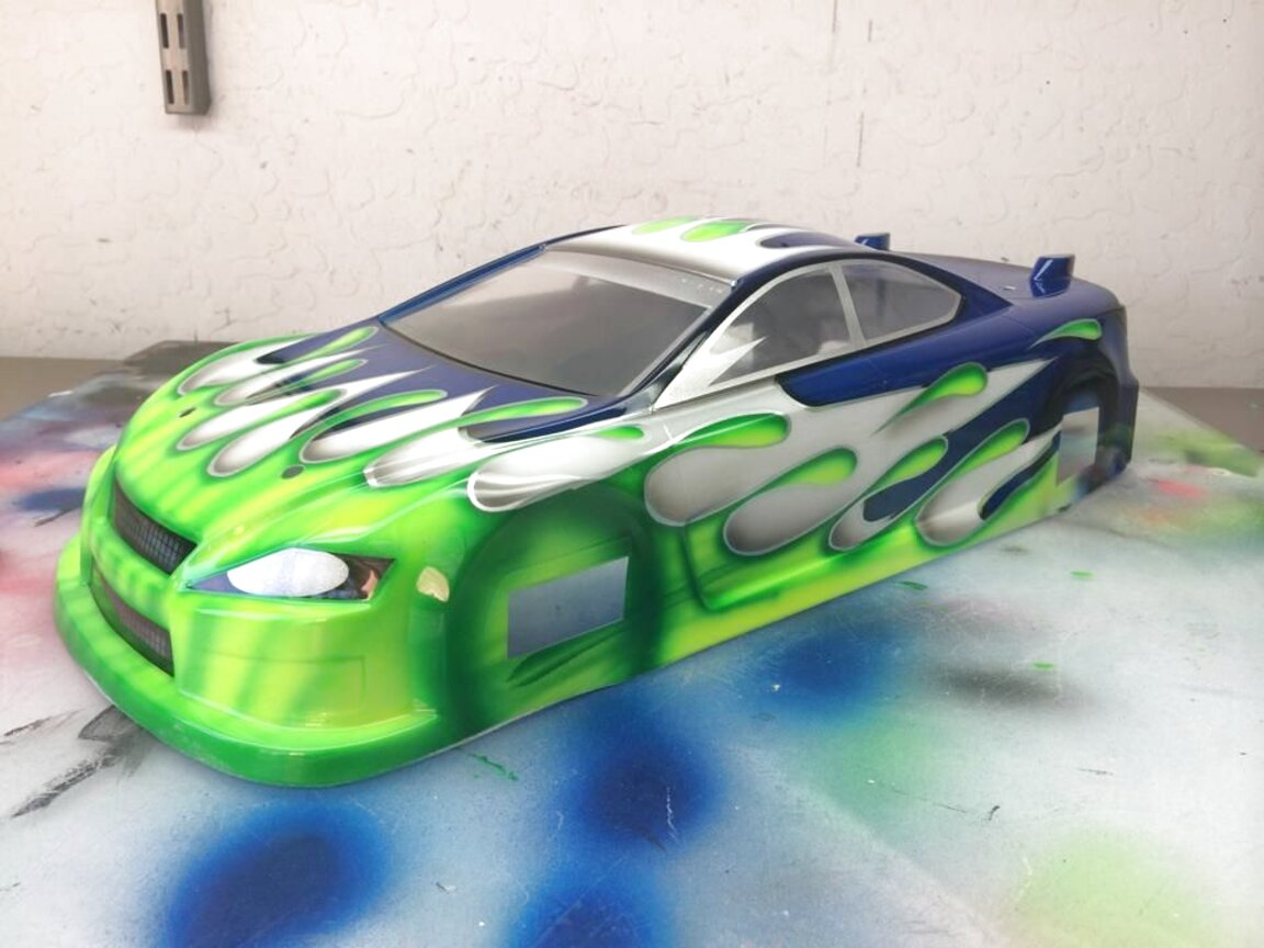 painted rc car bodies for sale
