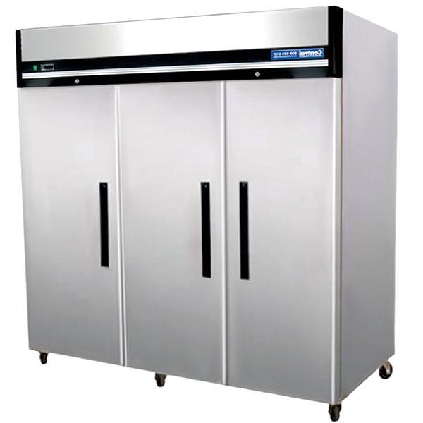 3 doors freezer for sale
