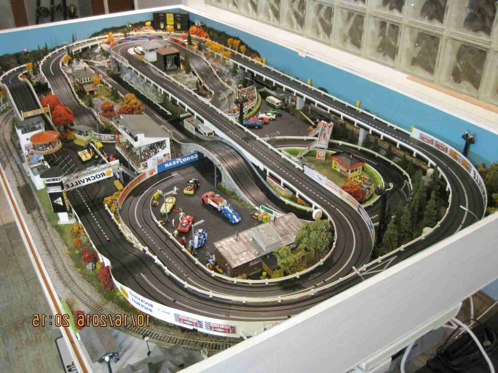 ho slot car layouts for sale