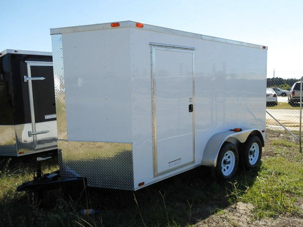 6x12 enclosed trailer for sale
