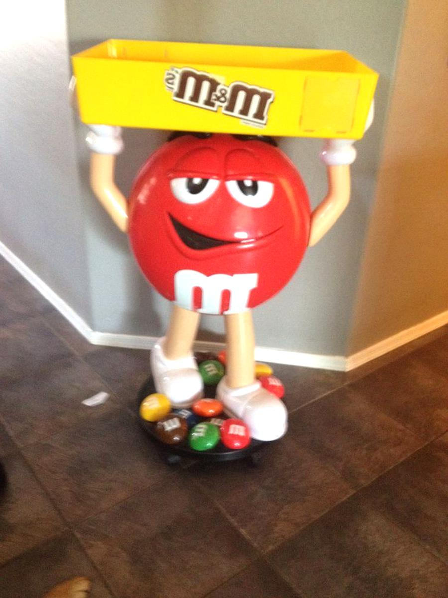 m m candy display for sale