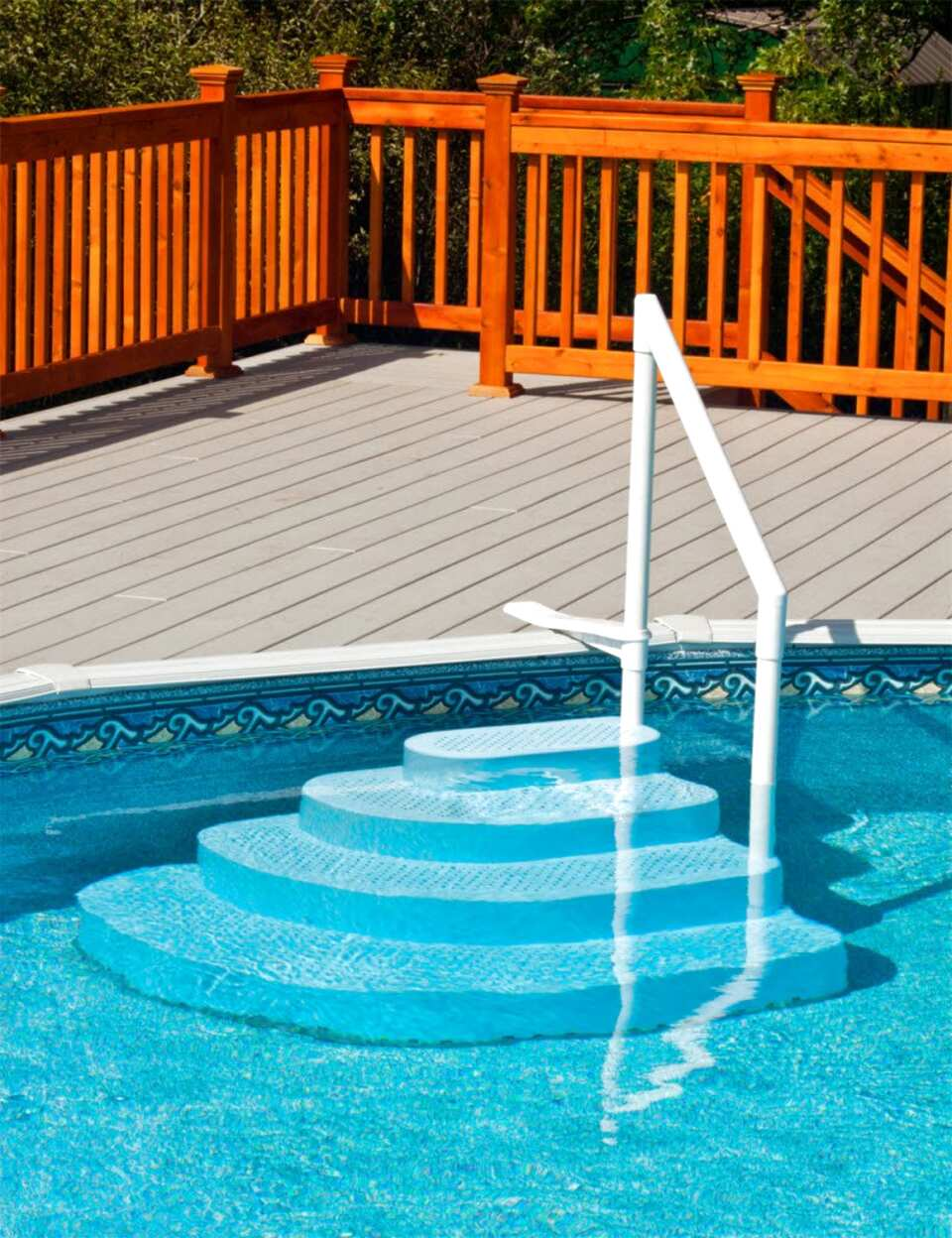 above ground pool steps for sale