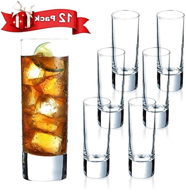 tall shot glasses set 12 for sale