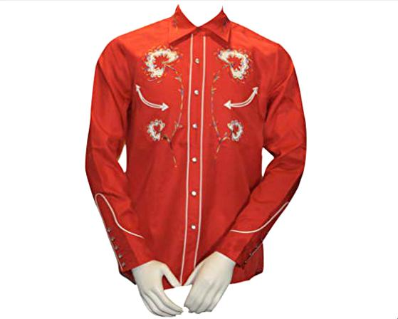 h bar c western shirt for sale