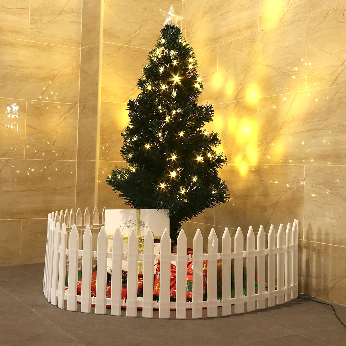christmas tree fence for sale