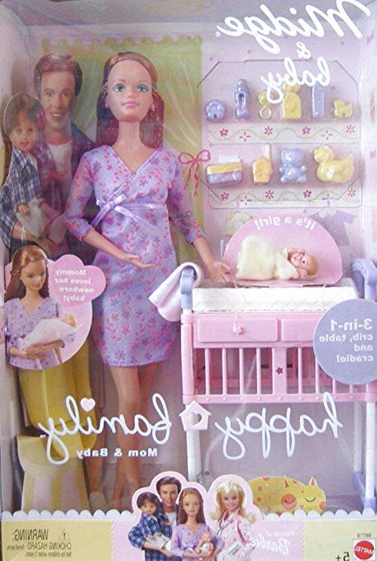 barbie happy family midge for sale