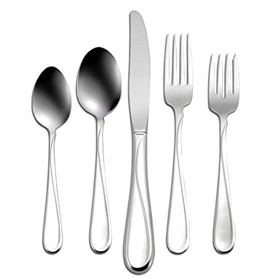 """NEW Set of 4 Oneida DUPREE 18//0 Stainless Steel Dessert Spoons TEASPOONS 7.25/"""""""