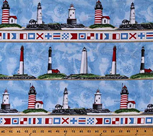 lighthouse fabric for sale