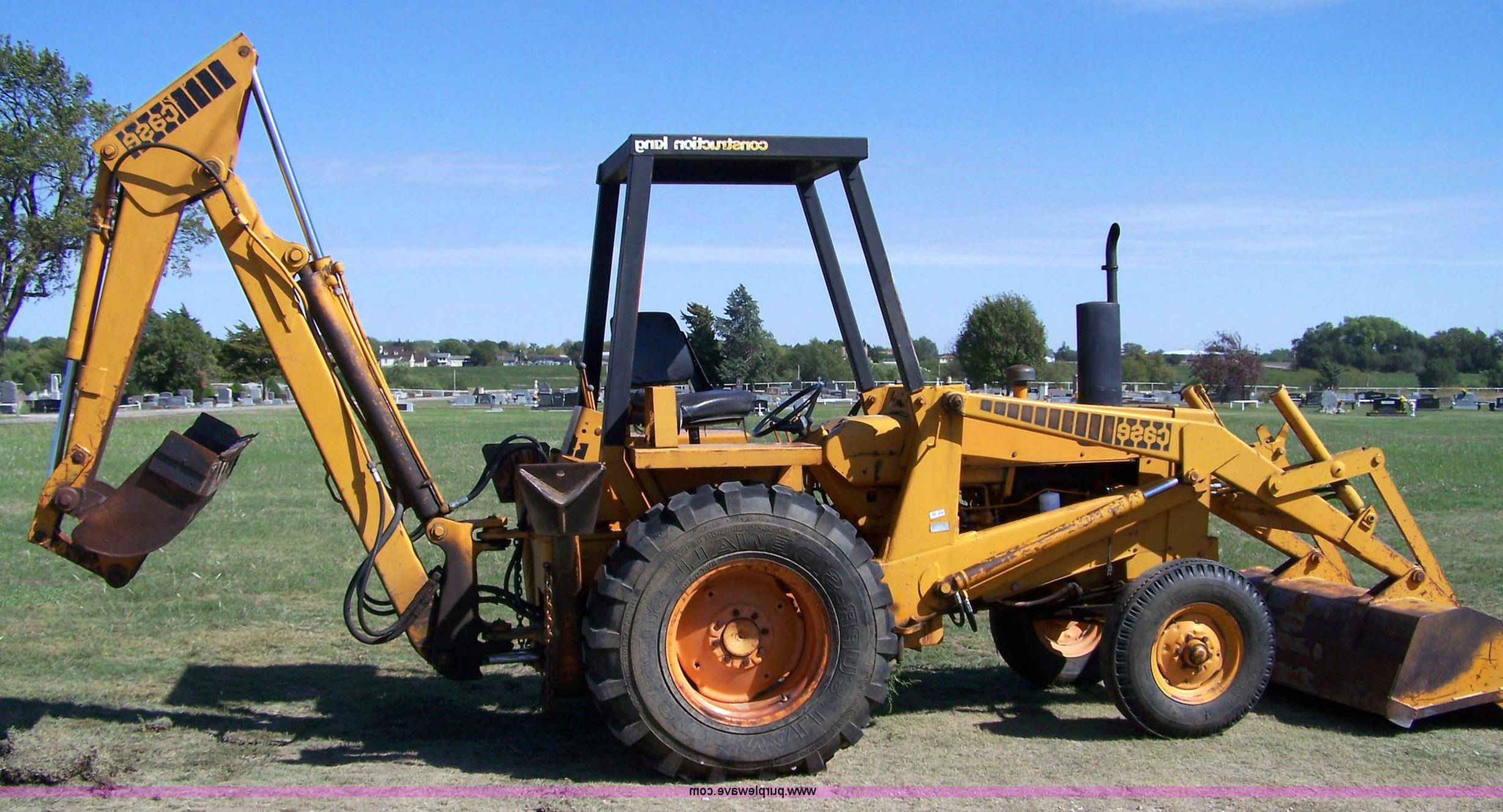 Case 480 Backhoe For Sale