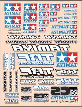 tamiya decals for sale