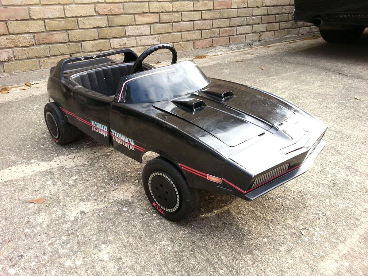 knight rider pedal car coleco kitt for sale