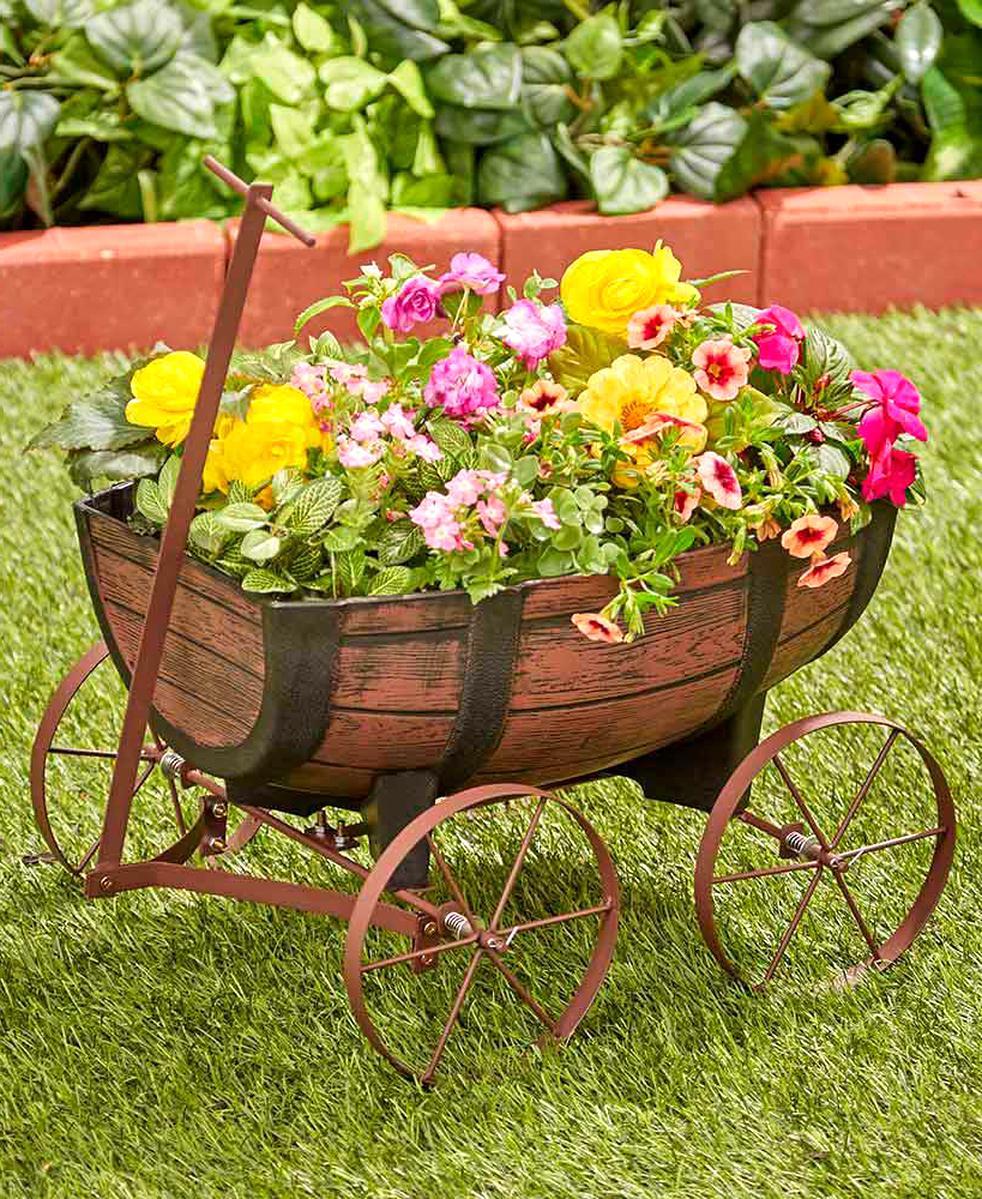 wagon planter for sale