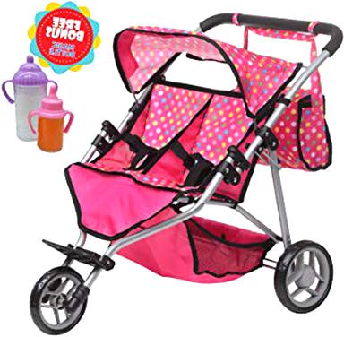 baby doll double stroller for sale