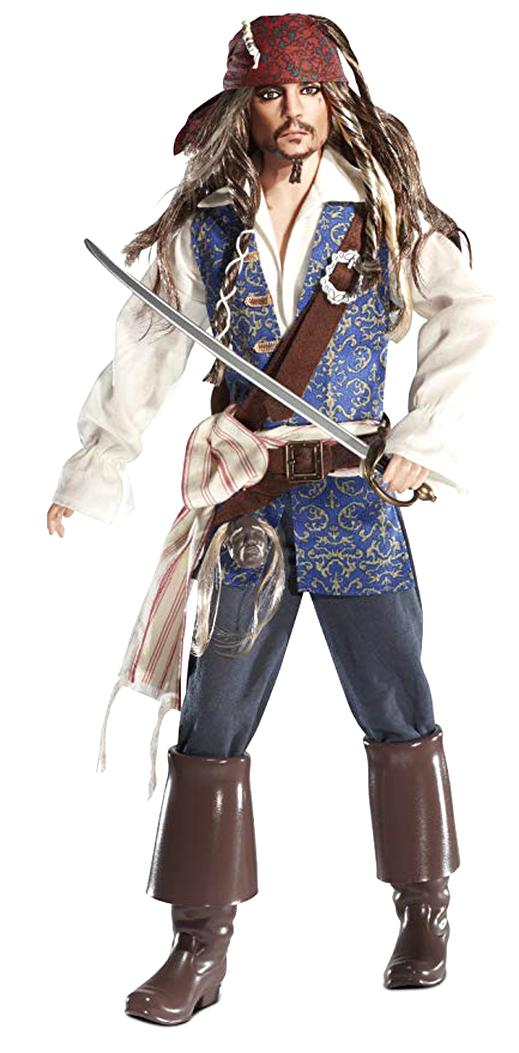 jack sparrow doll for sale