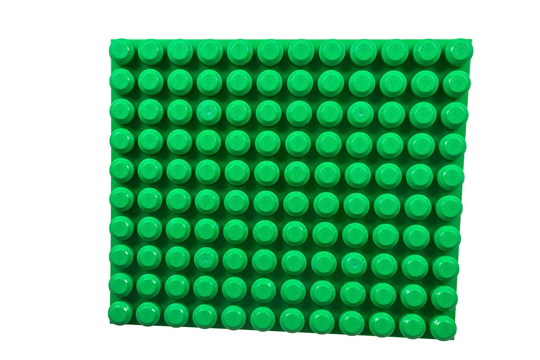 Light Gray HALO base PLATES 3 pieces Mega Bloks NEW