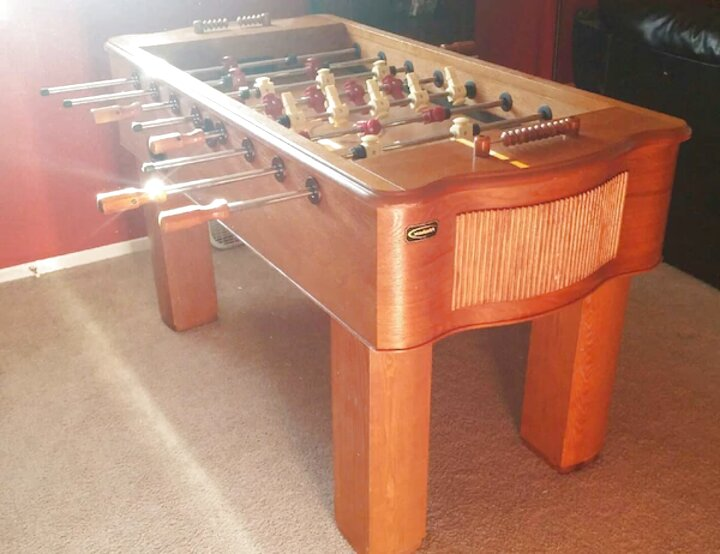halex foosball table for sale