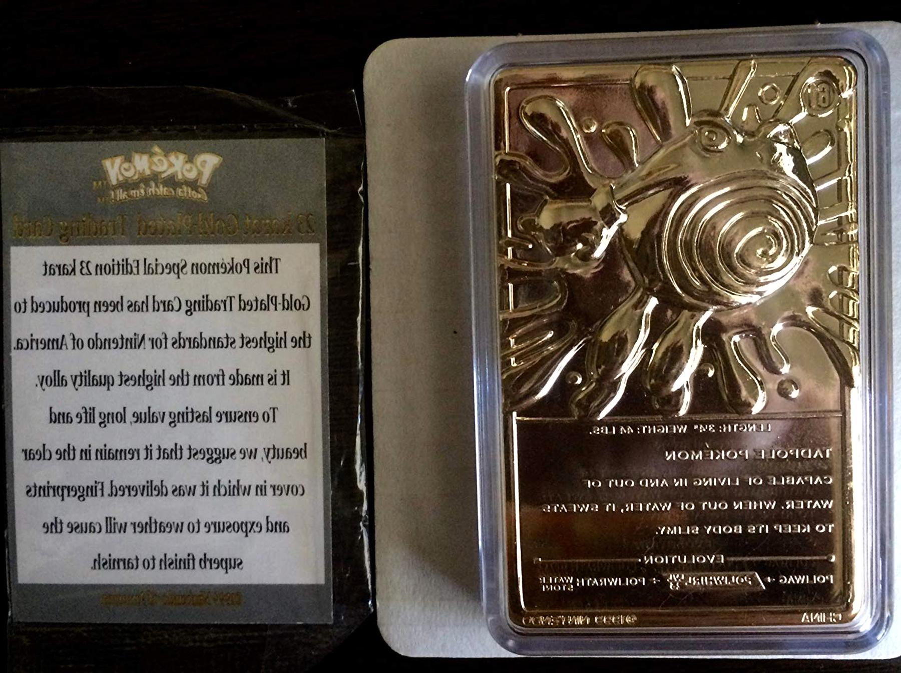 gold pokemon cards for sale