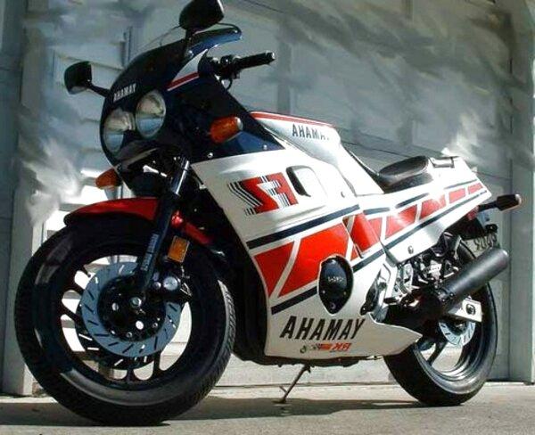 1986 yamaha fz600 for sale