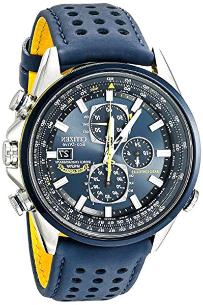 mens citizen eco drive watch blue angel for sale