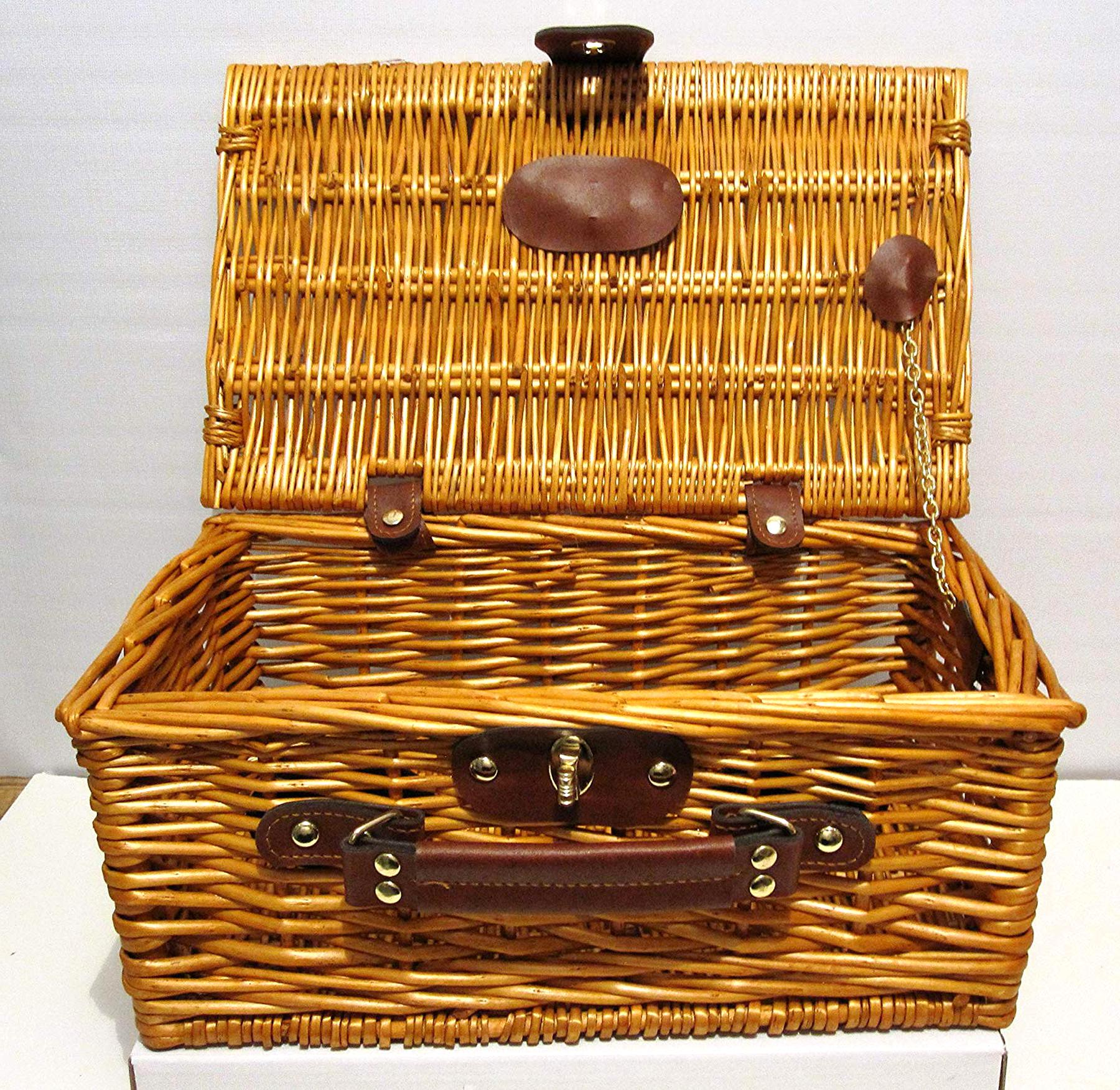wicker suitcase for sale