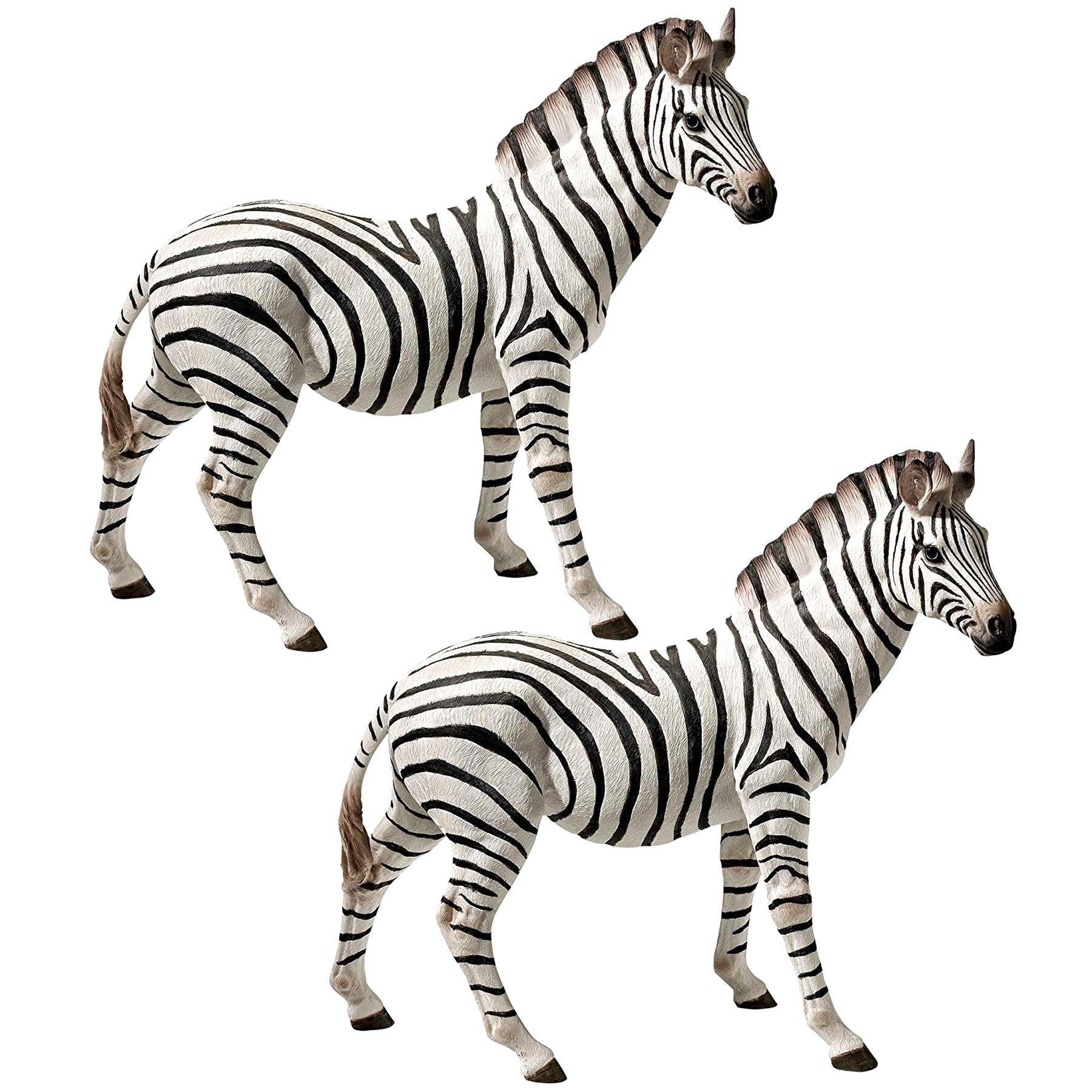zebra statue for sale