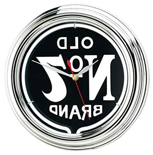 jack daniels neon clock for sale