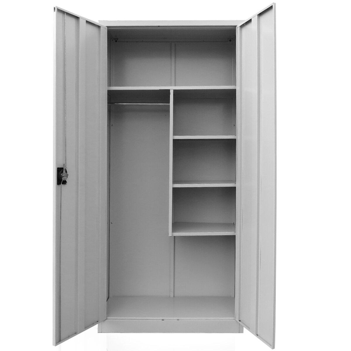 metal wardrobe cabinet for sale