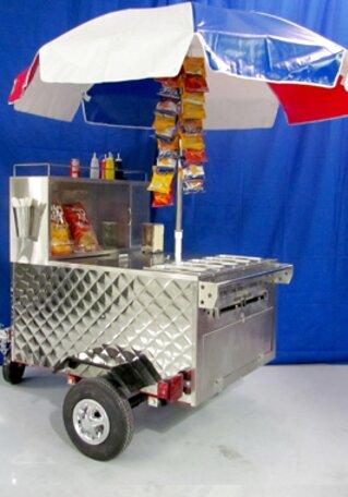 Hot Dog Hot Dog Cart For Sale Only 2 Left At 60