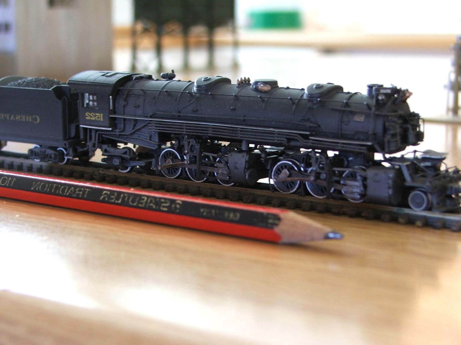 n scale train model for sale
