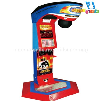 punching machine game for sale