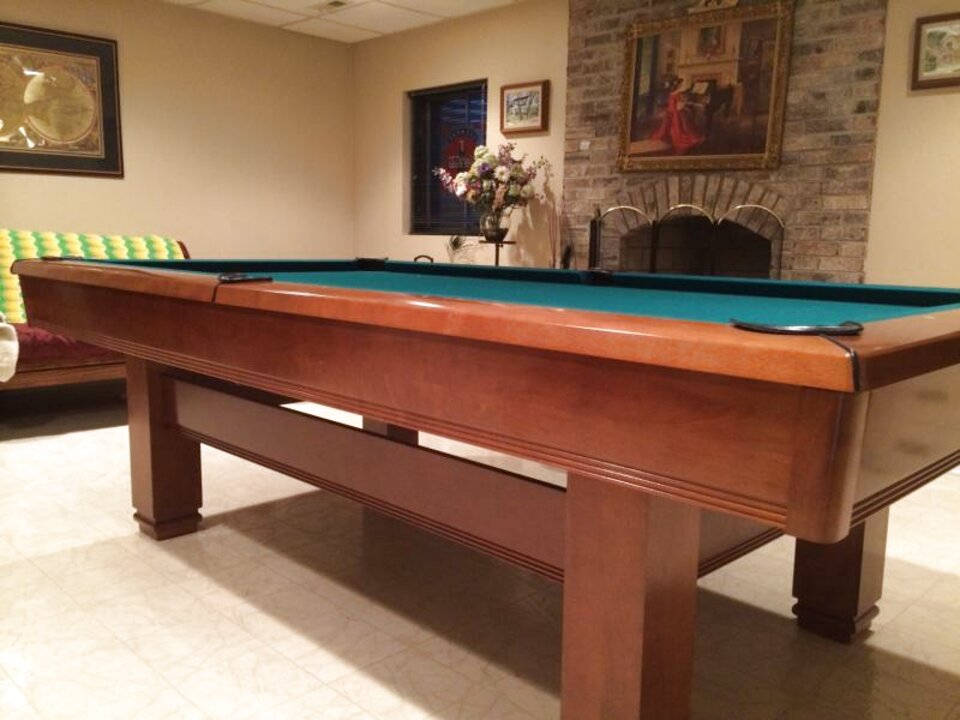 Brunswick Slate Pool Table for sale   Only 4 left at -65%