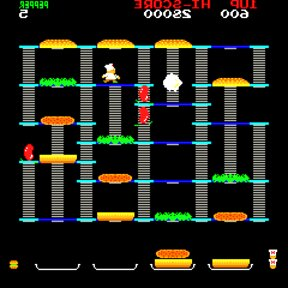 burger time arcade game for sale