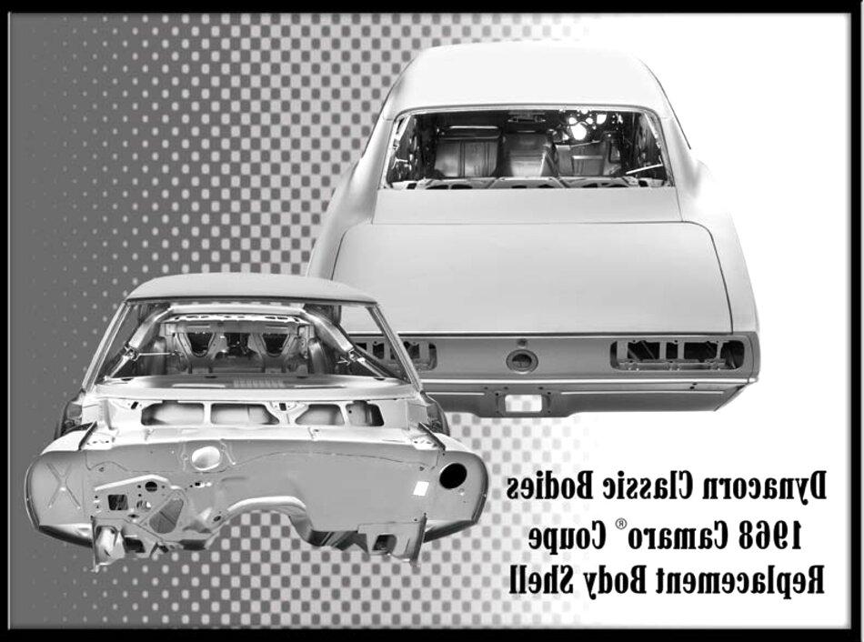 1968 camaro body for sale