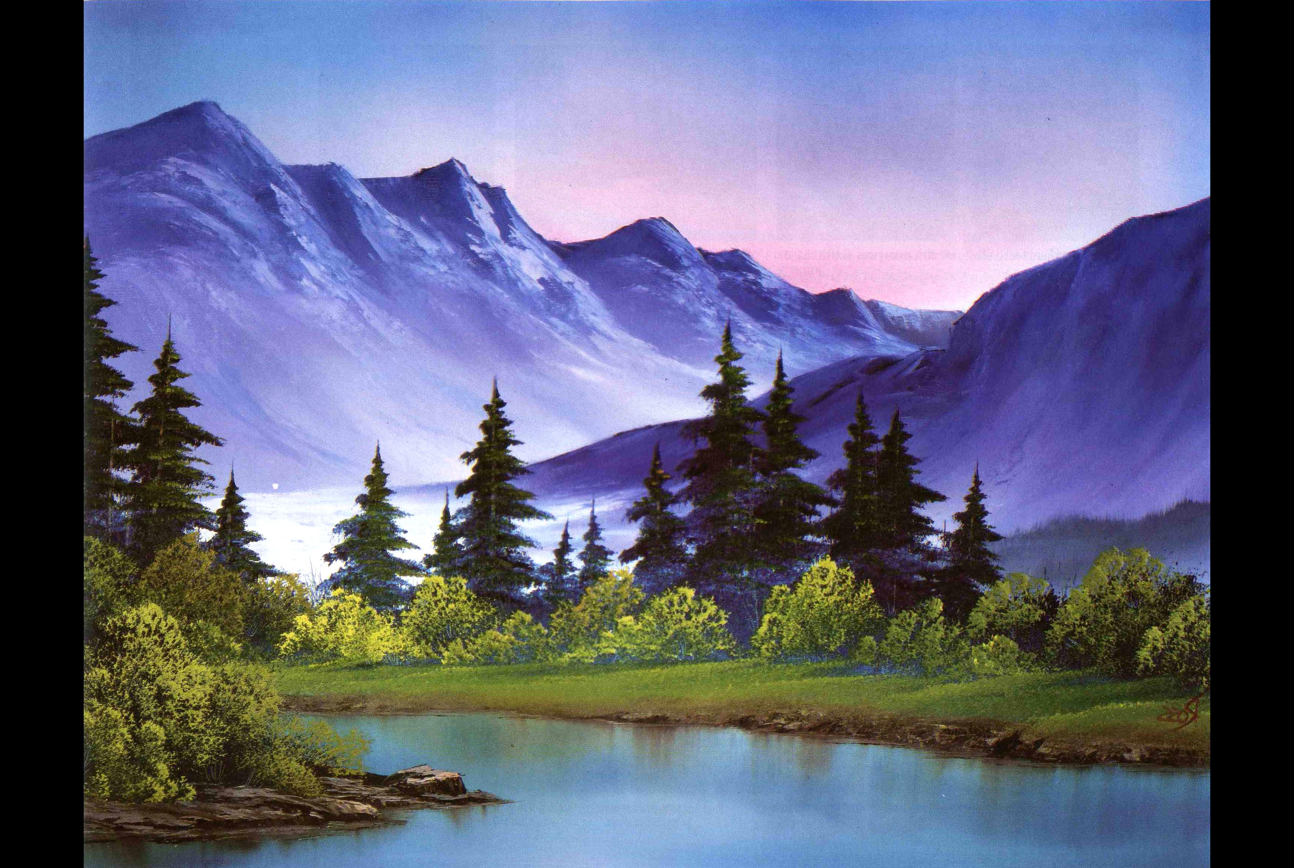 Bob Ross Painting For Sale Only 3 Left At 70