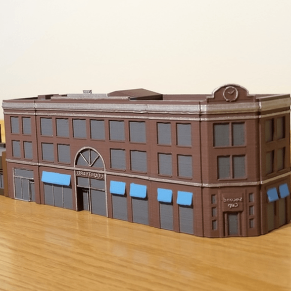 n scale buildings for sale