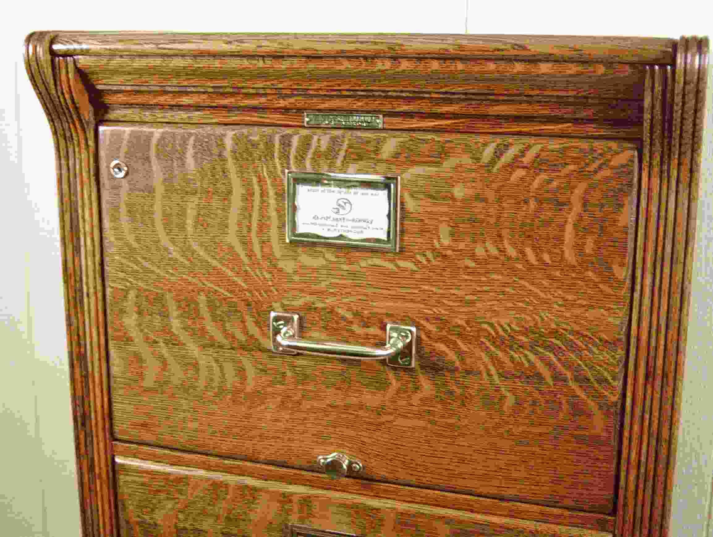 oak file cabinet for sale