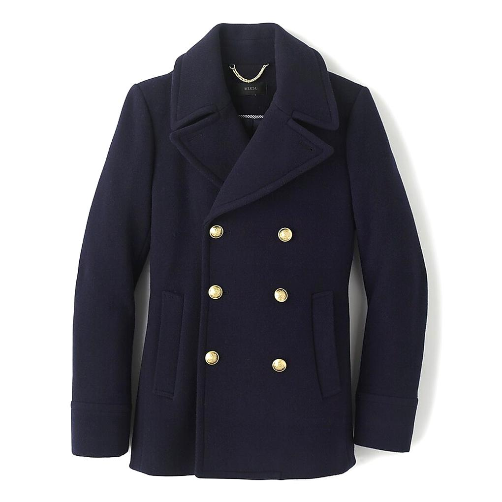 j crew majesty peacoat for sale