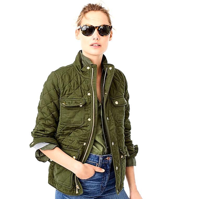 j crew field jacket for sale