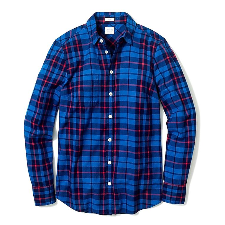 j crew flannel for sale
