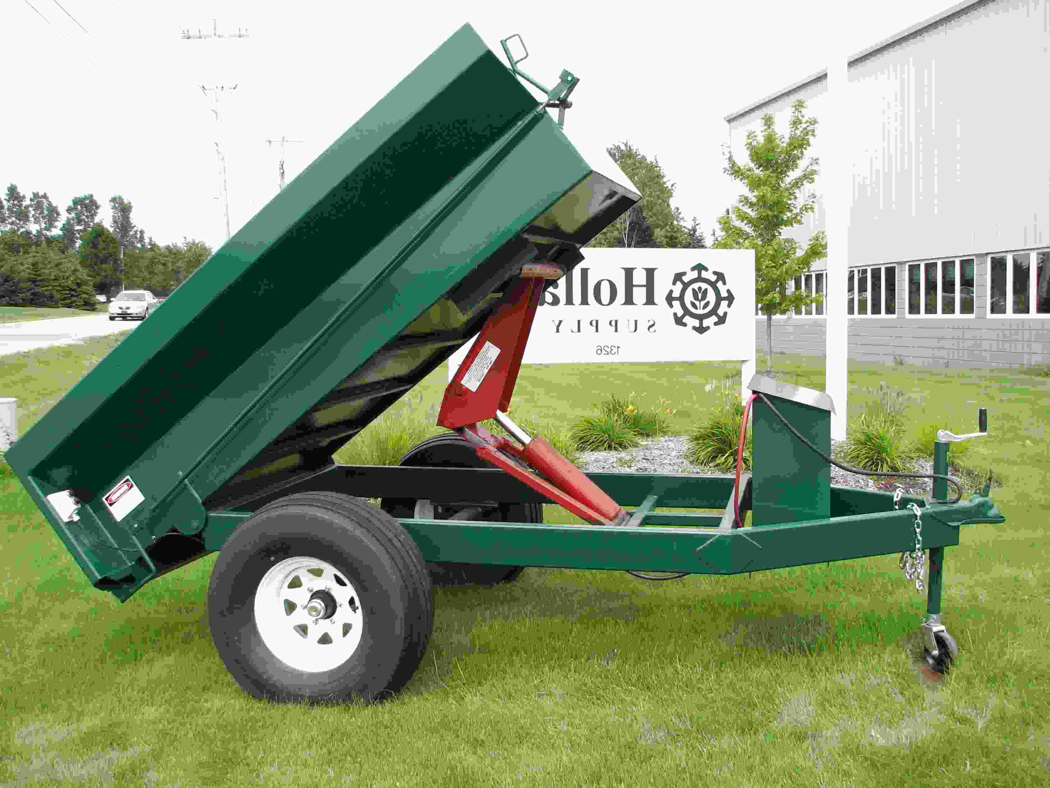 hydraulic dump trailer for sale