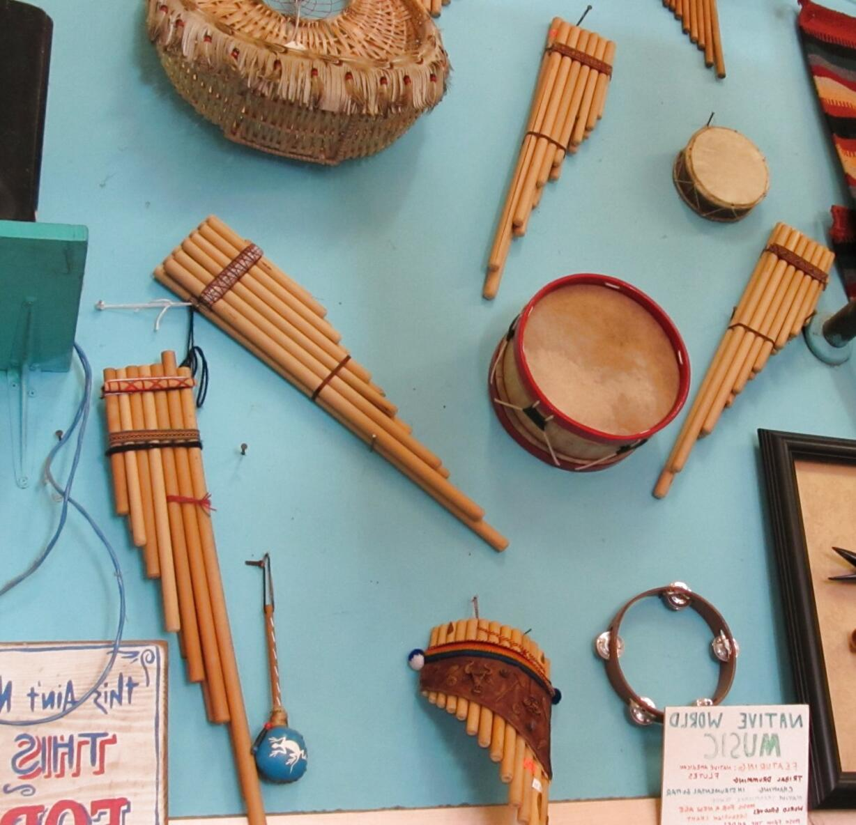 Native American Musical Instruments For Sale