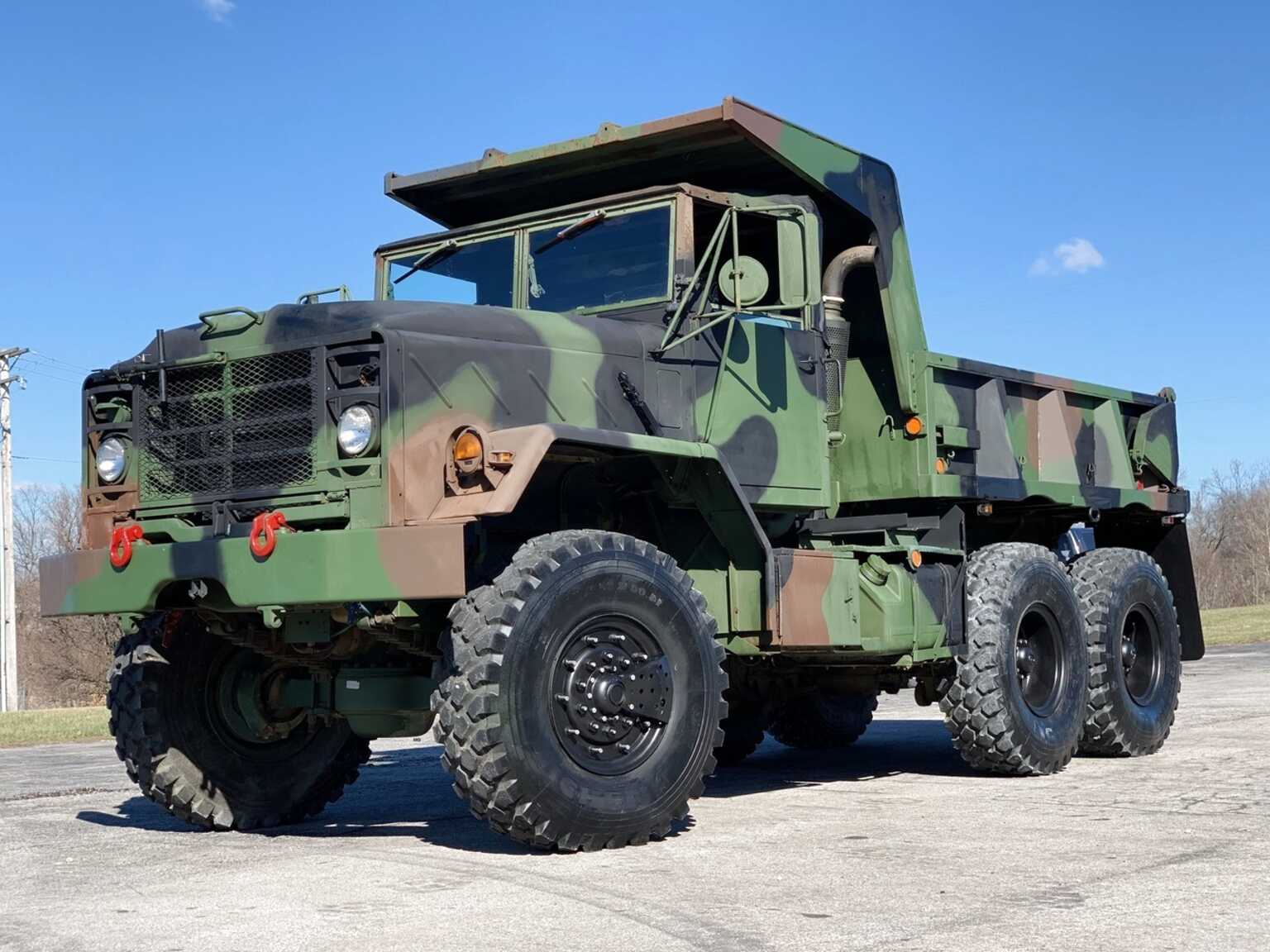 6X6 Dump Truck for sale | Only 3 left at -75%