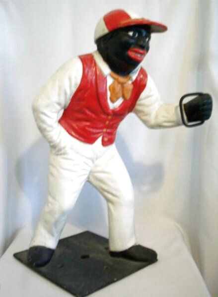 lawn jockey statue for sale