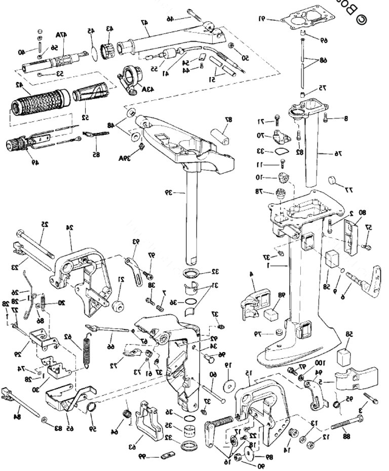 evinrude outboard parts for sale