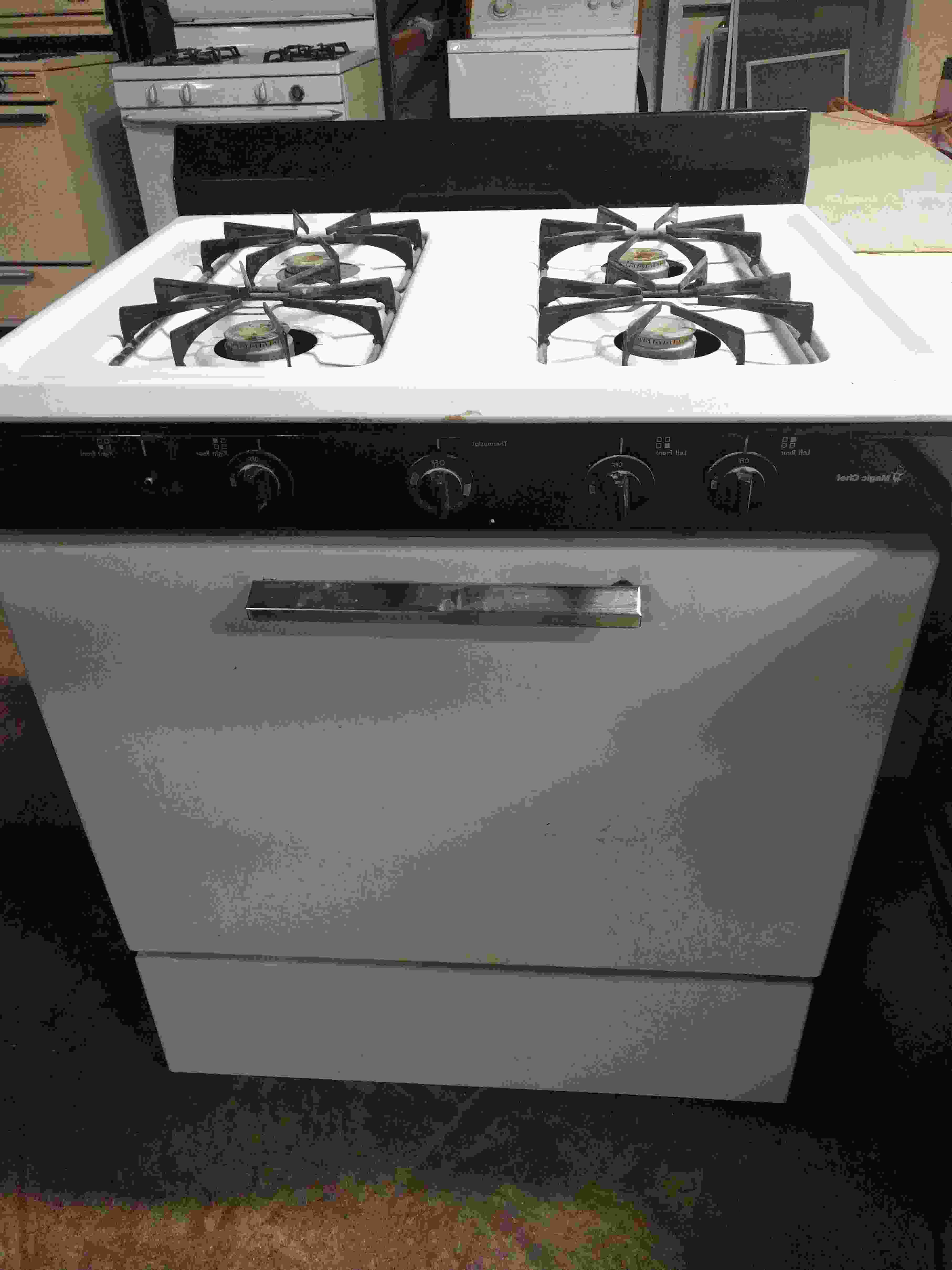 MAYITOP Burner Head Assembly Oven Gas Range Stove for Maytag Magic Chef...