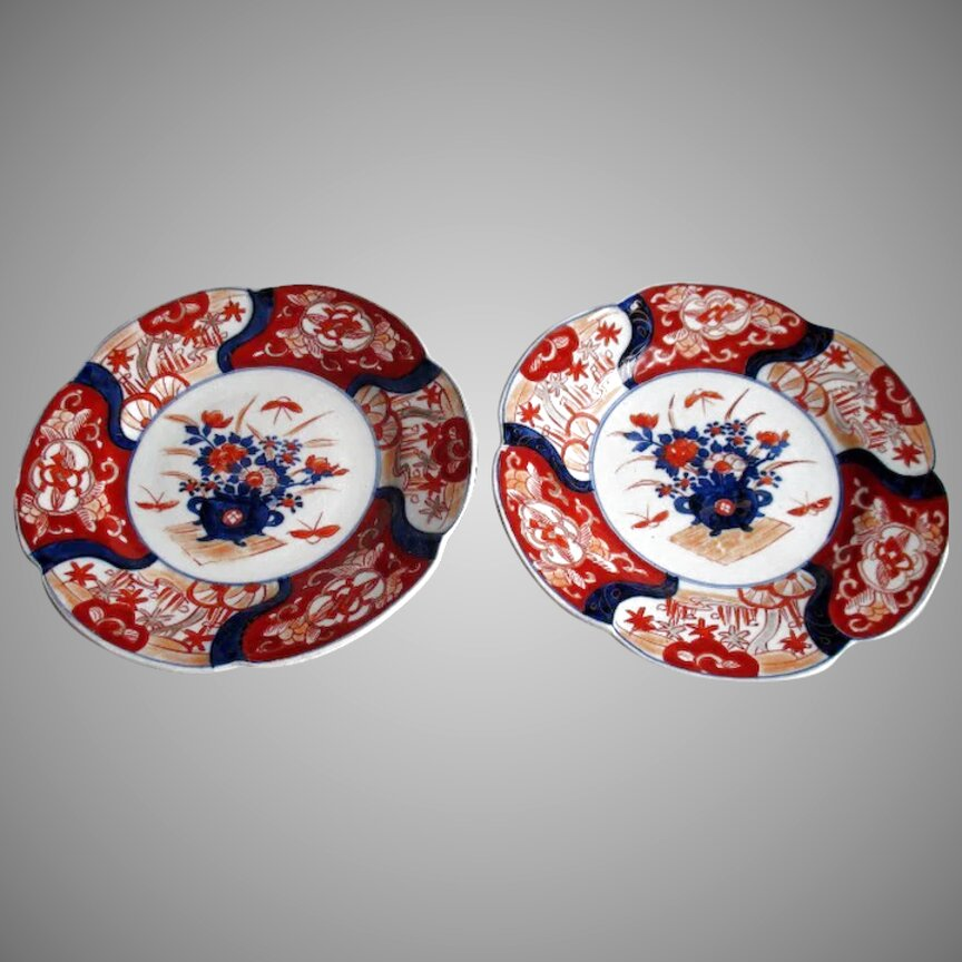Plates For Sale >> Imari Plates For Sale Only 4 Left At 70