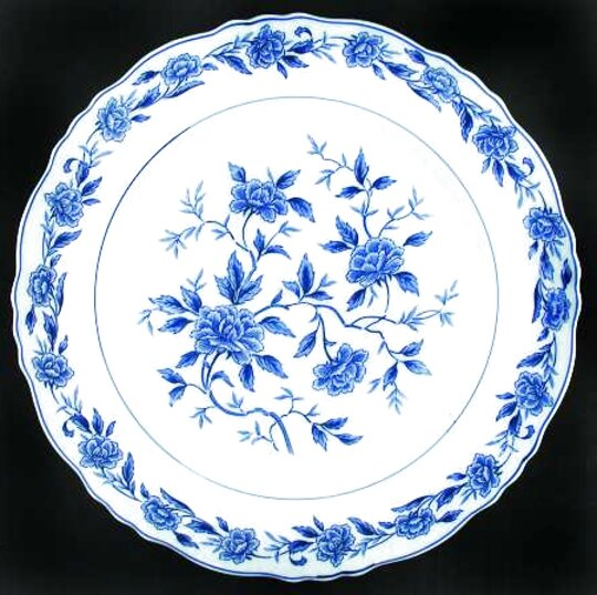 symco blue chatham china for sale