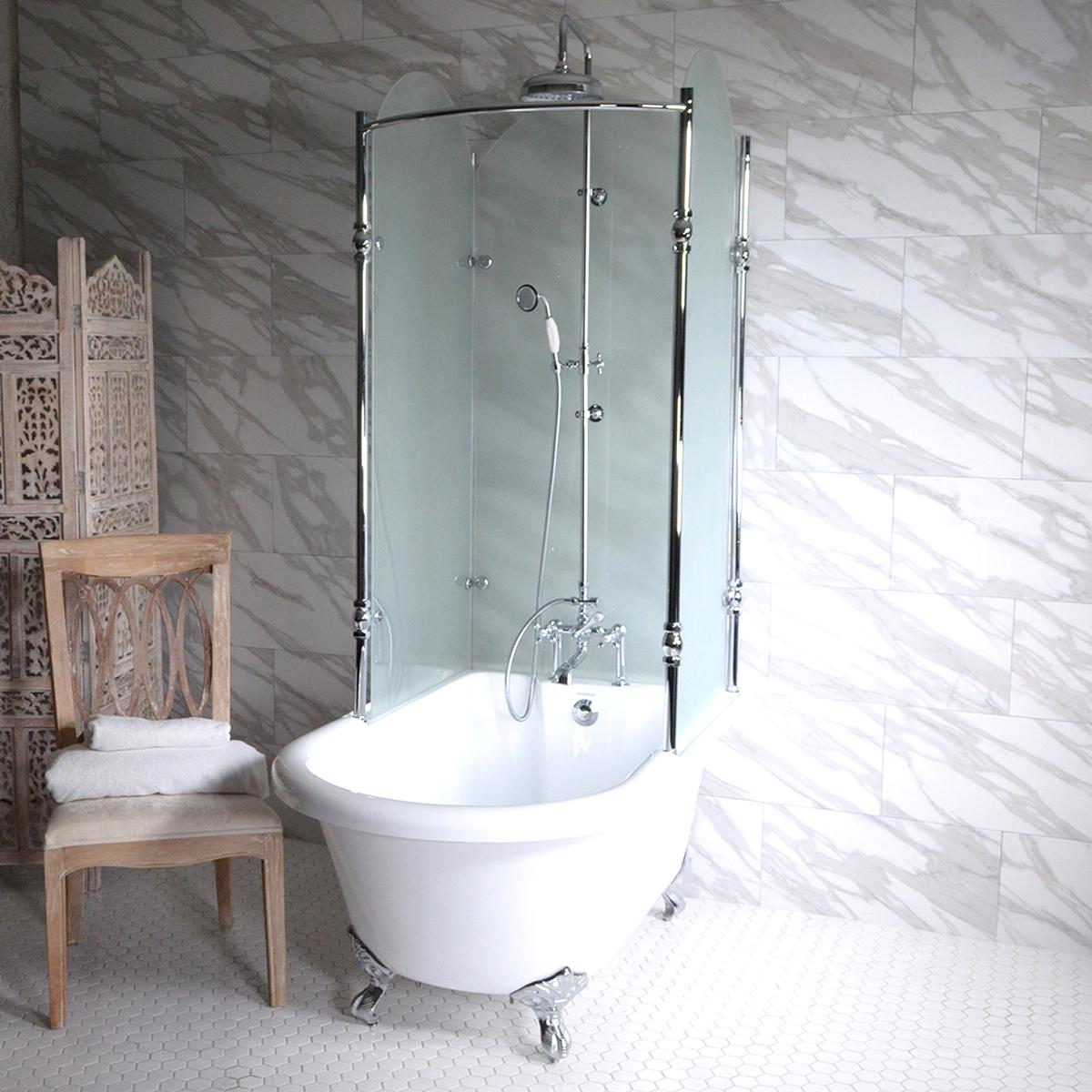 clawfoot tub shower for sale