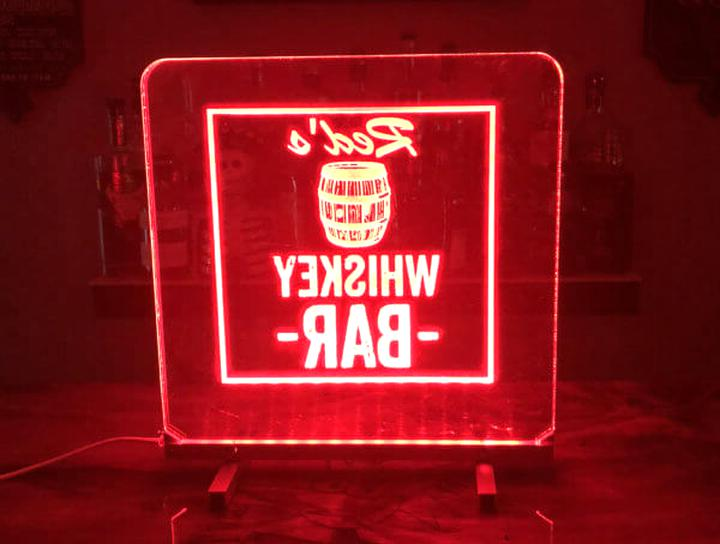 Whiskey Lighted Signs for sale | Only 4 left at -60%
