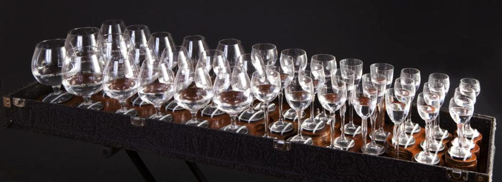 glass harp for sale